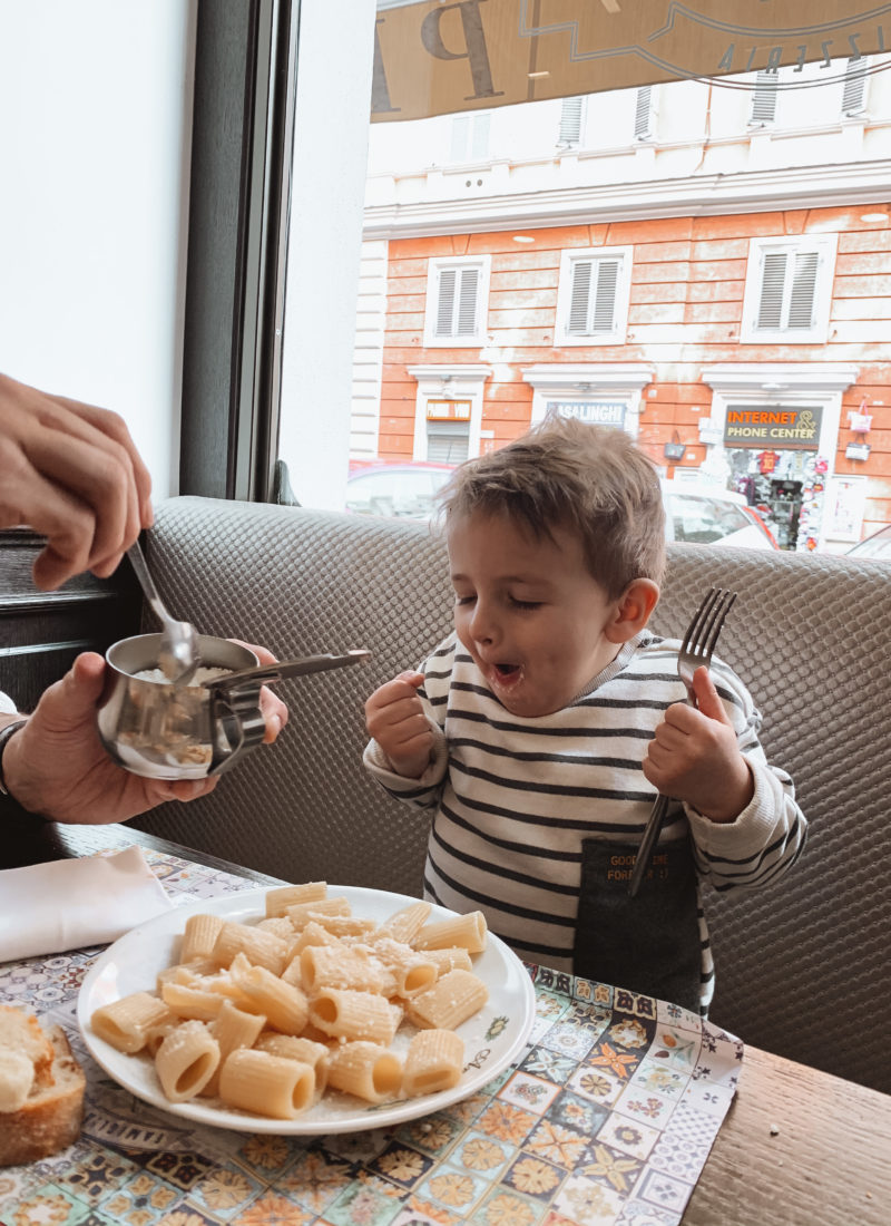 5 Tips To Enjoying Rome With A Toddler